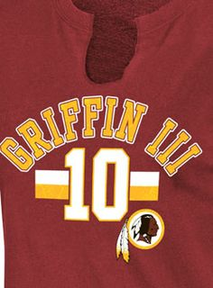 Ladies #Redskins Robert Griffin III  T-Shirts