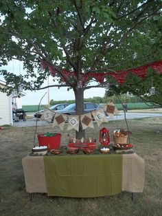Camping, smores birthday party ideas photo 3 of 17 catch my party party . Bonfire Birthday, Birthday Parties, Fourth Birthday, Backyard Camping, S'mores Bar, Party Time, Party Party, Event Planning, Party Ideas