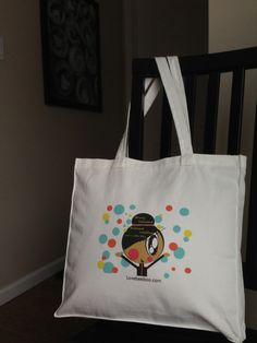 Canvas tote bag with original artwork The artwork by Lovebeeboo, $20.00    Mention THAT YOU SAW IT ON Pinterest and get it for $15! Limited time only!