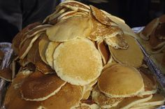 Pancakes, anyone?  Free breakfast is served three times a week during Frontier Days on Monday, Wednesday, and Friday!