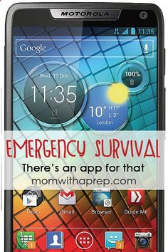 Emergency  Survival Apps for your Phone  e-devices that could save your life | Mom with a Prephttp://momwithaprep.com/emergencies-survival-theres-an-app-for-that/