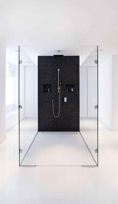 Bathroom design by Studio Jan des Bouvrie. Timeless and beautiful. #bathroom #design #shower