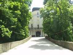 Pejačević Castle in Virovitica (Slavonia), built in 1804 in the late-baroque and neoclassicistic styles by the Croatian count Antun Pejačević on the place of an old medieval fortress.