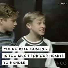 Your heart will not be able to handle this video full of young Ryan Gosling moments.