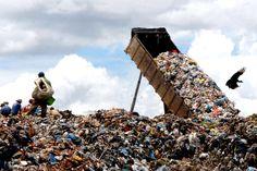 Brasil é o quinto maior produtor de lixo do mundo   #AterroSanitário, #Energia, #Lixo, #MeioAmbiente, #Poluição, #Sustentabilidade, #VitorVieira