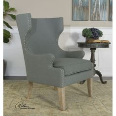 Found it at Wayfair - Graycie High Back Wing Chair