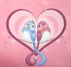 Disney Love Birds 1
