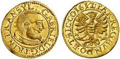 Transylvania (Siebenburgen) AV Dukat 1612 Nagybanya Mint Prince Gabriel Bathory 1608-13