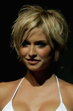 Sexy Hairstyles For Women Over 40 | short messy hairstyles for women over 40