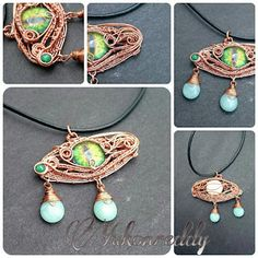 The world of YukonReddy Jewelry and Beads: The making of the green dragon's tears.