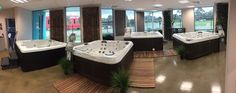 Visit our showroom today with over 50 spas on display! — at Endless Spas and Pools.