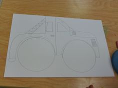 2nd grade artists design a vehicle for their color wheels!