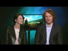 Outlander | Interview w/ Caitriona Balfe & Sam Heughan on Northwest