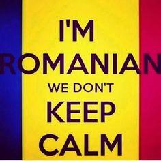 "DIY beauty & Face masks : Illustration Description ""I'm romanian we don't keep calm"" — I am not Romanian, but I can relate. lol -Read More – Romanian Gypsy, Romanian Girls, Romanian People, Diy Beauty Face Mask, Diy Face Mask, Face Masks, Jokes And Riddles, Bucharest Romania, Lol So True"
