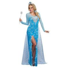 The Ice Queen Costume For Adults