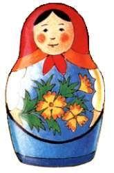 Paper Matryushka Doll templates