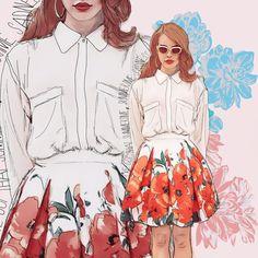 Summertime Sadness Art Print by sara eshak