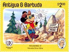 Antigua y Barbuda 1985 - Mina de plata en Nevada