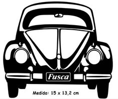adesivo vw beetle volkswagen vintage antigo fusca -fus-08