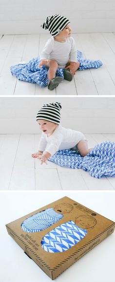 Captain Silly Pants Swaddle Blankets (up to HALF OFF!)