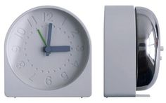A roundup of our favorite small-scale bedside alarm clocks (most work for travel as well). Above: A new favorite, the Bell Alarm Clock by Sam Hecht for Ind Alarm Clocks, Desk Clock, 3c, Product Design, Simple Designs, Concrete, Industrial, Watches, Easy