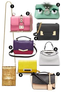 This spring, make a statement with bright accessories. Shop these 8 micro bags and 8 other purse trends this season.