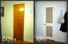 Beautifully Contained: How to Spice up a Flat Panel Door