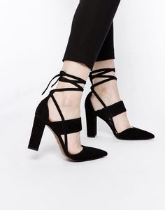 love the strappy look this season #cinderellaheels