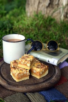 From The Kitchen: Caramel, White Chocolate and Macadamia Nut Slice