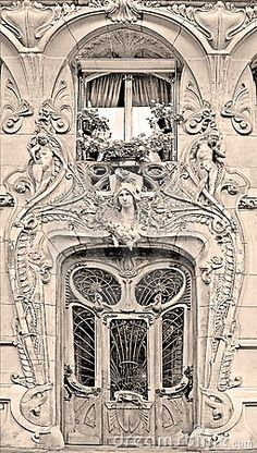 Art Nouveau building by Tyanka, via Dreamstime