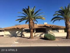 Sun City Arizona Adult Community Homes For Sale  $170,000, 2 Beds, 2 Baths, 1,541 Sqr Feet  LOVELY EXPANDED COCONINO MODEL IN THE PALMBROOK COUNTRY CLUB AREA OF SUN CITY. TWO NICE-SIZED BEDROOMS. MASTER BEDROOM HAS ACCESS TO THE ARIZONA ROOM. KITCHEN EXPANDED TO THE FRONT.  PATIO ENCLOSED TO CREATE A FAMILY ROOM.  PREVIOUS OWNER WAS A CRAFTSMAN WHICH YOU CAN SEE IN THE BEAUTIFUL BUILT-INS.A complete and FREE UP-TO-DATE list of Phoenix homes for sale in Adult Communities!  http://mi..