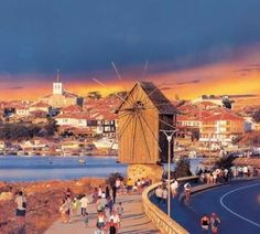 Nesebar, Bulgaria, Black sea