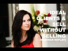 How to Get Clients & Sell Without Selling webinar replay. Learn some of the tips I used to grow my 7-figure business.