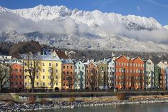 For a weekend away with shops and a side-order of skiing, you can't beat the beautiful Austrian city of Innsbruck