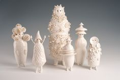 When I Woke – an exhibition curated by artists sophie woodrow ceramic figures Porcelain Ceramics, Ceramic Pottery, Ceramic Art, China Porcelain, Ceramic Animals, Clay Animals, Ceramic Figures, Contemporary Ceramics, Clay Art