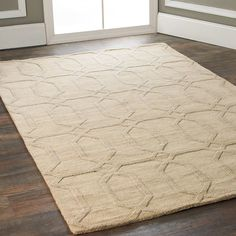Check out Diamond Prism Imprint Rug from Shades of Light