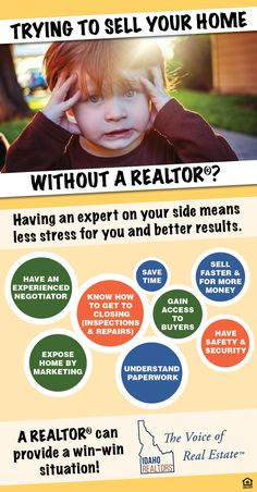 Having an expert by your side makes all the difference in a home sale. Let your REALTOR® be your guide!