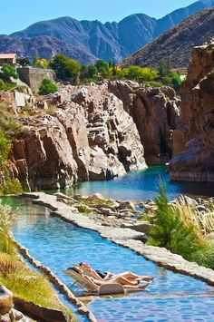 There comes a time when vacationing itself becomes exhausting, which is the perfect moment to escape to Mendoza's Termas de Cacheuta Sps and hot springs. Mendoza, Argentina South America, South America Travel, Oh The Places You'll Go, Places To Travel, Places To Visit, Spa, Patagonia Travel, Bolivia