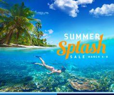 SUMMER SPLASH SALE