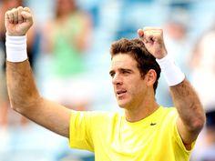 Result: Juan Martin del Potro beats Stanislas Wawrinka in four sets
