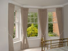 Bay Window Curtains Pin Bay Window Pelmets on Pinterest Curtain Designs For Bay