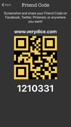 #VeryDice use code 1210331 to Win free spins