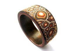 polymer clay bracelet by Tina Mezek Design on Flickr 2012