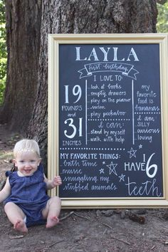 First Birthday Sign | 16th Avenue Lettering on Etsy