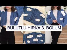 Bulutlu Hırka 3.bölüm(Kollar) #knitting #chunkycardigan #örgü #hırka. - YouTube Baby Knitting Patterns, Crochet Patterns, Cardigan Pattern, Crochet Designs, Diy And Crafts, Knit Crochet, Kids Rugs, Pullover, Sewing