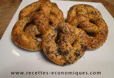 Bretzels ou mauricettes
