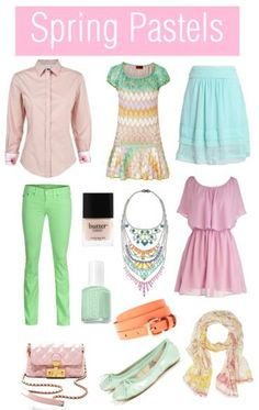 My favorites for spring :) http://thehippinista.blogspot.com/2012/01/have-great-weekend.html