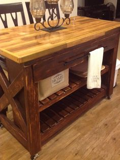 mobile kitchen islant cart available in custom hardware color sizes and countertop