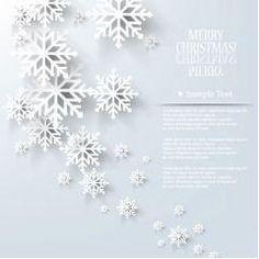 冬に似合う雪の結晶デザイン ベクター素材   MaterialandEx