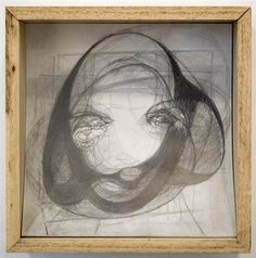 Artist: Marisa Merz (Italian, born 1926) Title: Untitled (head), 2006 Medium: Paintings, Graphite and paper sculpture Size Notes: 10 3/4 x 10 3/4 x 4 inches (27.3 x 27.3 x 10.2 cm) Catalogue: Gladstone Gallery Inventory Catalogue Price: Price on Request Movement: Thanks, Artnet.com
